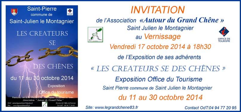 INVITATION EXPO CREATEURS 2014