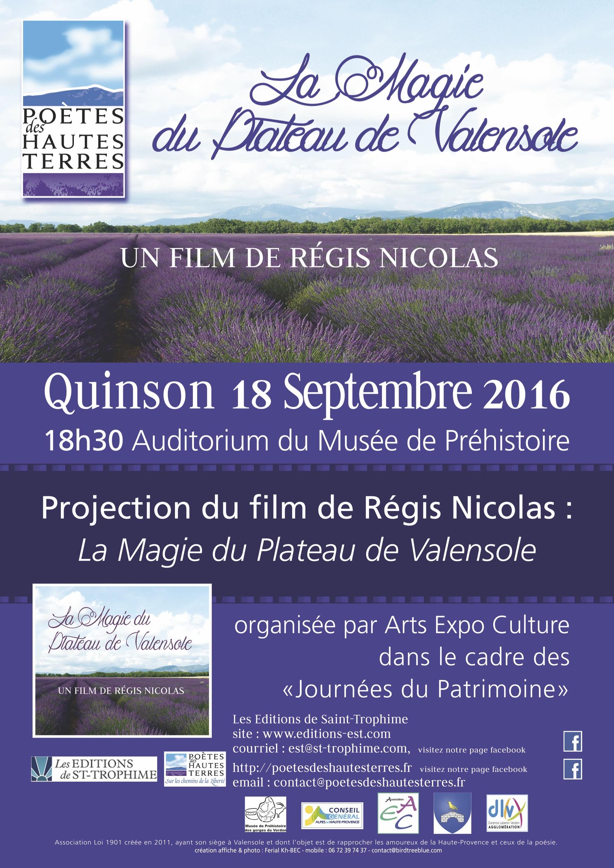 Quinson le 18 septembre 2016